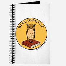 Bibliophile Seal w/ Text Journal