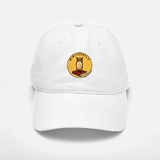Bibliophile Seal w/ Text Baseball Baseball Cap