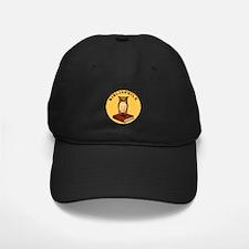 Bibliophile Seal w/ Text Baseball Hat