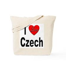 I Love Czech Tote Bag