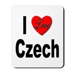 I Love Czech Mousepad
