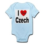 I Love Czech Infant Creeper