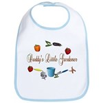 Daddy's Little Gardener Baby Bib