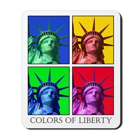 Patriotic colorful Mousepad