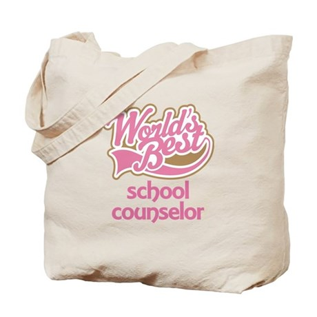 School Counselor Tote Bag