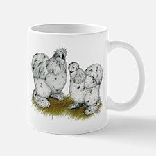 Silkies Splash Chickens Mug