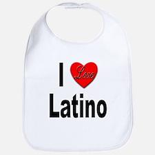 I Love Latino Bib