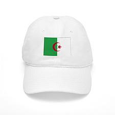 Algeria Flag Map Baseball Cap