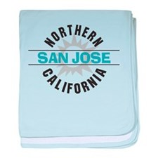 San Jose California Infant Blanket