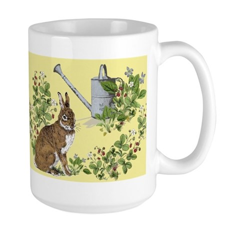 'Berry Bunny' Large Mug