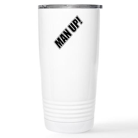 Man Up! Stainless Steel Travel Mug