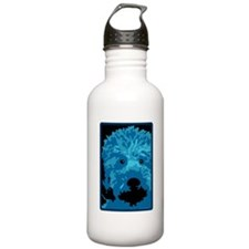 Labradoodle - color 3 Water Bottle