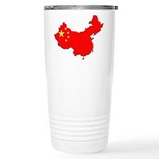 China Flag Map Travel Mug
