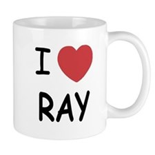 I heart ray Mug
