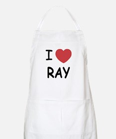 I heart ray Apron