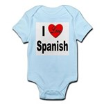 I Love Spanish Infant Creeper