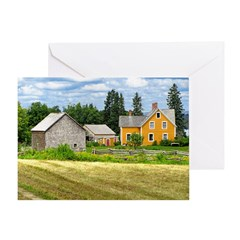 Joslin Farm 1860 Greeting Card