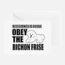 Bichon Frise Greeting Card