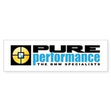 Pure Performance Bumper Sticker