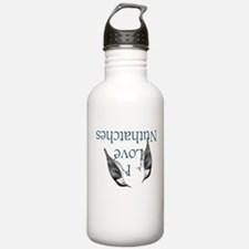 I Love Nuthatches Water Bottle