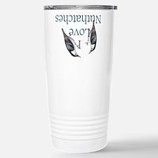 I Love Nuthatches Travel Mug