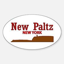 New Paltz Brown Decal