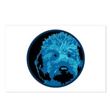 Labradoodle - color 3 Postcards (Package of 8)