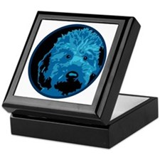 Labradoodle - color 3 Keepsake Box