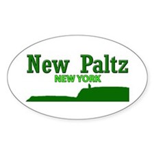 New Paltz Green Decal
