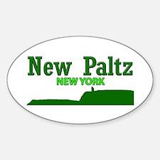 New Paltz Green Decal