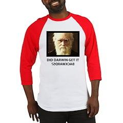 ID Darwin Backwards Baseball Jersey
