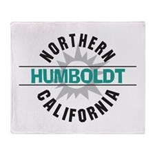 Humboldt California Throw Blanket