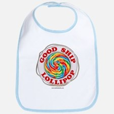 Good Ship Lollipop... Bib