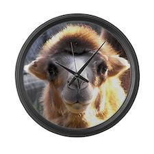 Bactrian Camel Large Wall Clock