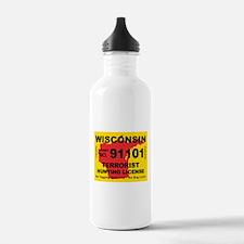 Wisconsin Terrorist Hunting L Water Bottle