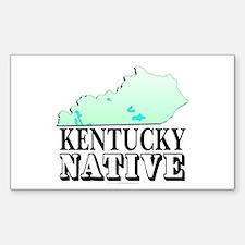 Kentucky native Sticker (Rectangle)