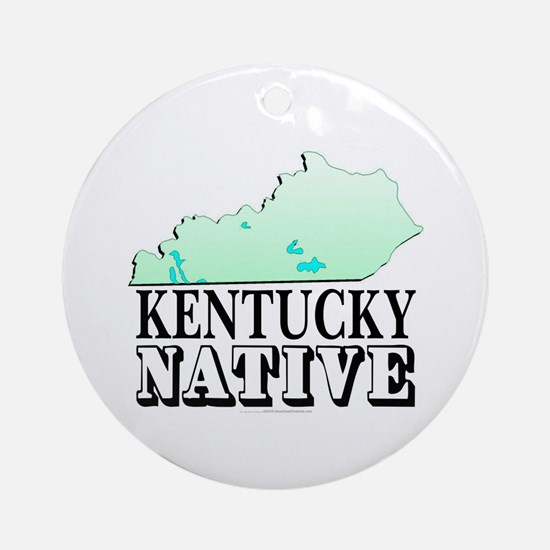 Kentucky native Ornament (Round)