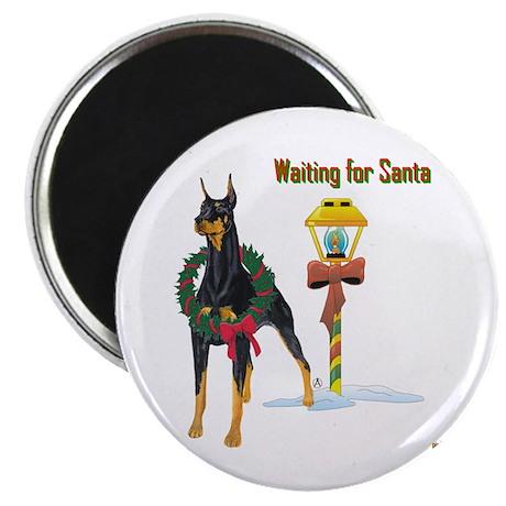 Waiting for Santa Magnet
