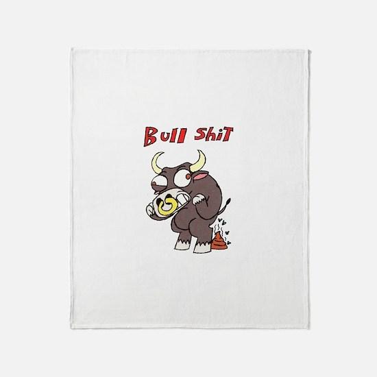 Bullshit Throw Blanket
