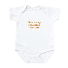 Recession Costume Infant Bodysuit