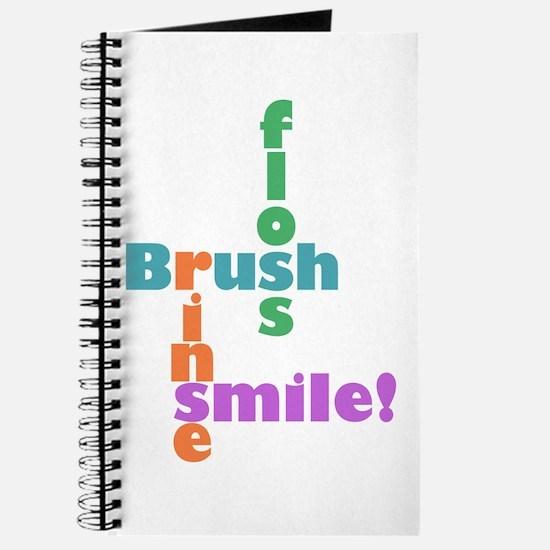 Brush Floss Rinse Smile Journal