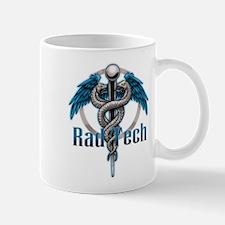Rad Tech Caduceus Blue Mug