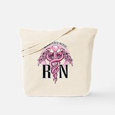 RN Caduceus Pink Tote Bag