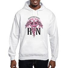 RN Caduceus Pink Hoodie