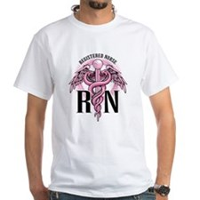 RN Caduceus Pink Shirt