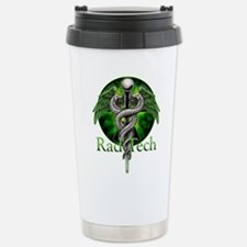 Rad Tech Caduceus Green Travel Mug