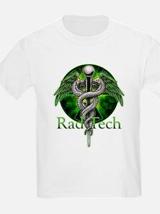 Rad Tech Caduceus Green T-Shirt