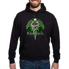 Rad Tech Caduceus Green Hoodie