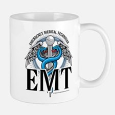 EMT Caduceus Blue Mug