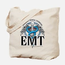 EMT Caduceus Blue Tote Bag